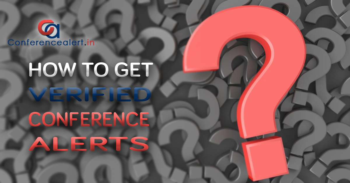 How To Get Verified Conference Alerts